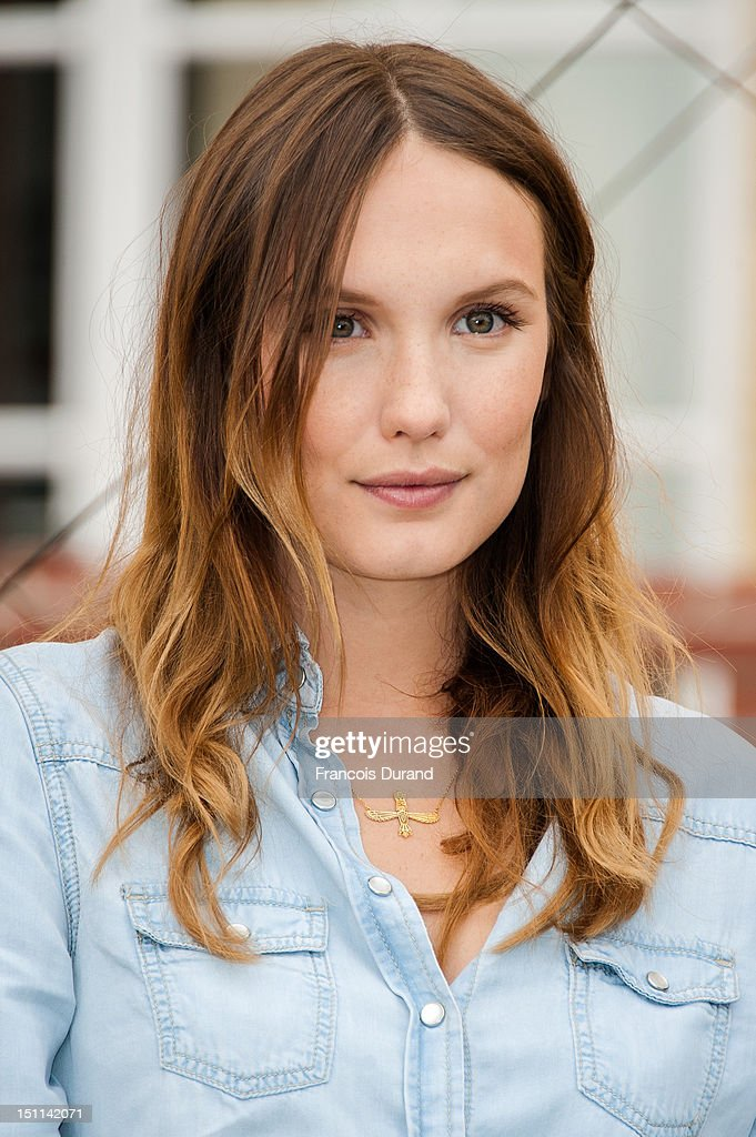 Actress <a gi-track='captionPersonalityLinkClicked' href=/galleries/search?phrase=Ana+Girardot&family=editorial&specificpeople=6991847 ng-click='$event.stopPropagation()'>Ana Girardot</a> poses at a photocall in 'La Villa Cartier' during the 38th Deauville American Film Festival on September 1, 2012 in Deauville, France.