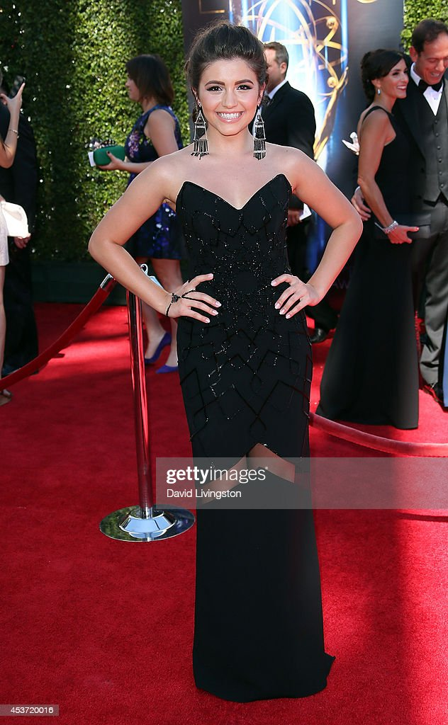 Actress Ana Golja attends the 2014 Creative Arts Emmy Awards at the Nokia Theatre L.A. Live on August 16, 2014 in Los Angeles, California.