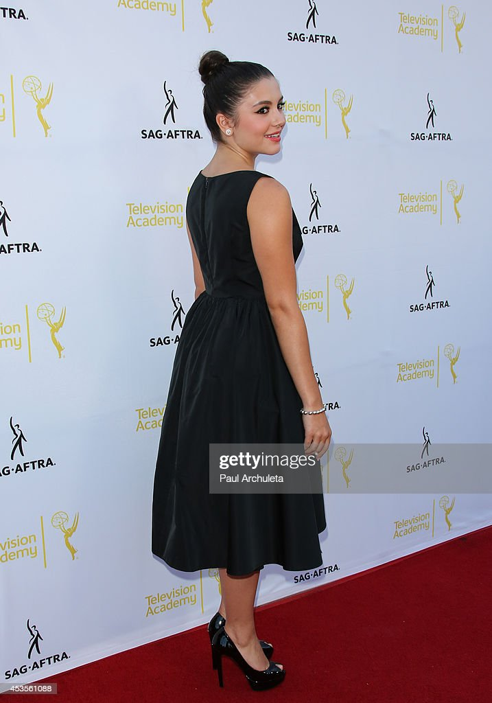 Actress Ana Golja attends the Television Academy and SAG-AFTRA's presentation of Dynamic and Diverse: A 66th Emmy Awards celebration of Diversity at Leonard H. Goldenson Theatre on August 12, 2014 in North Hollywood, California.