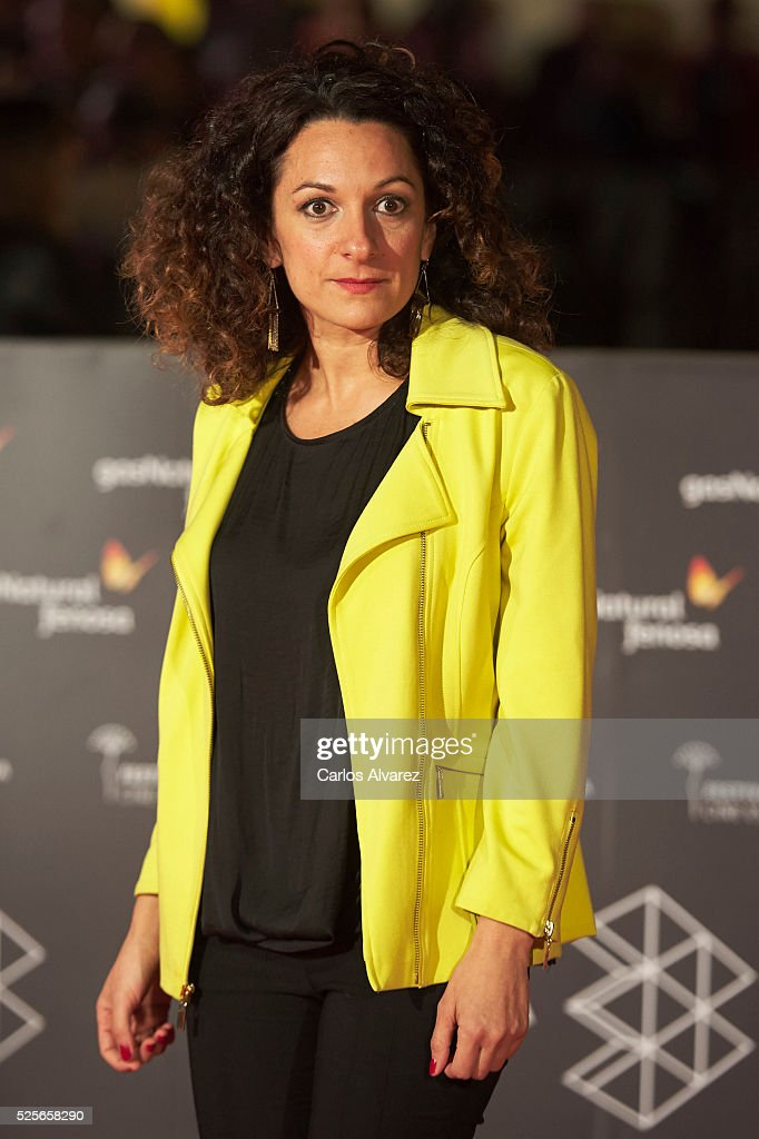 Actress Ana Katz attends 'La Ultima Piel' premiere at the Cervantes Teather during the 19th Malaga Film Festival on April 28, 2016 in Malaga, Spain.