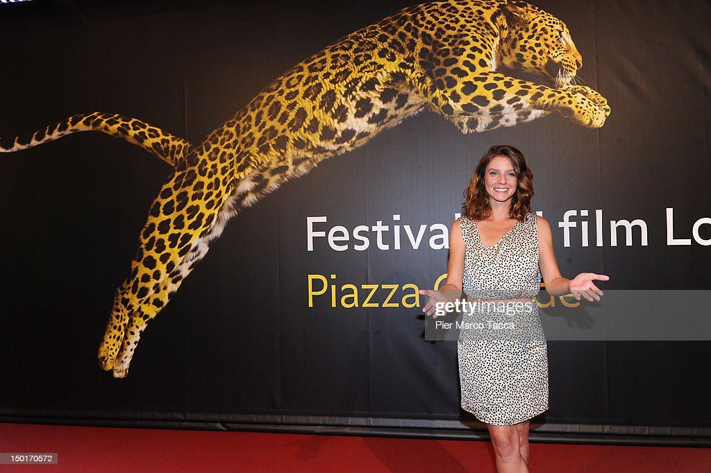 Actress Ana Moreira attends the winners red carpet during the 65th Locarno Film Festival on August 11, 2012 in Locarno, Switzerland.