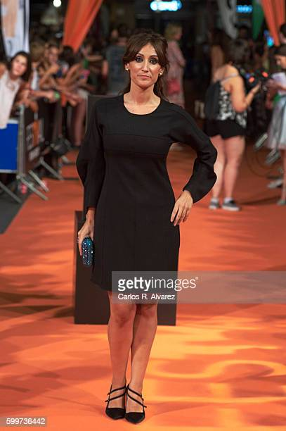 Actress Ana Morgade attends 'Olmos y Robles' premiere at the Principal Theater during FesTVal 2016 Day 2 Televison Festival on September 6 2016 in...