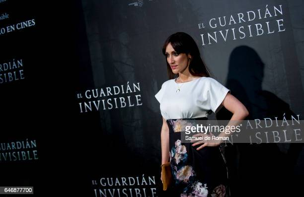 Actress Ana Morgade during 'El Guardian Invisible' Madrid Premiere on March 1 2017 in Madrid Spain