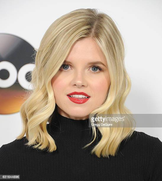 Actress Ana MulvoyTen arrives at the 2017 Winter TCA Tour Disney/ABC at the Langham Hotel on January 10 2017 in Pasadena California