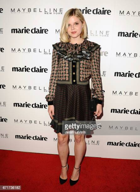 Actress Ana MulvoyTen attends Marie Claire's Fresh Faces event at Doheny Room on April 21 2017 in West Hollywood California