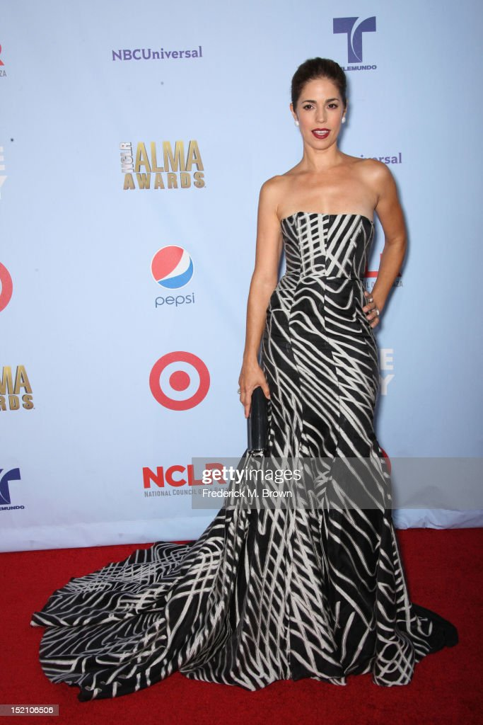 Actress Ana Ortiz arrives at the 2012 NCLR ALMA Awards at Pasadena Civic Auditorium on September 16, 2012 in Pasadena, California.