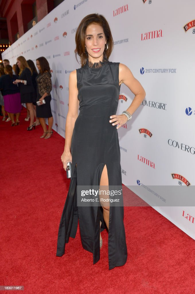 Actress <a gi-track='captionPersonalityLinkClicked' href=/galleries/search?phrase=Ana+Ortiz+-+Actress&family=editorial&specificpeople=12934861 ng-click='$event.stopPropagation()'>Ana Ortiz</a> attends Latina Magazine's 'Hollywood Hot List' party at The Redbury Hotel on October 3, 2013 in Hollywood, California.