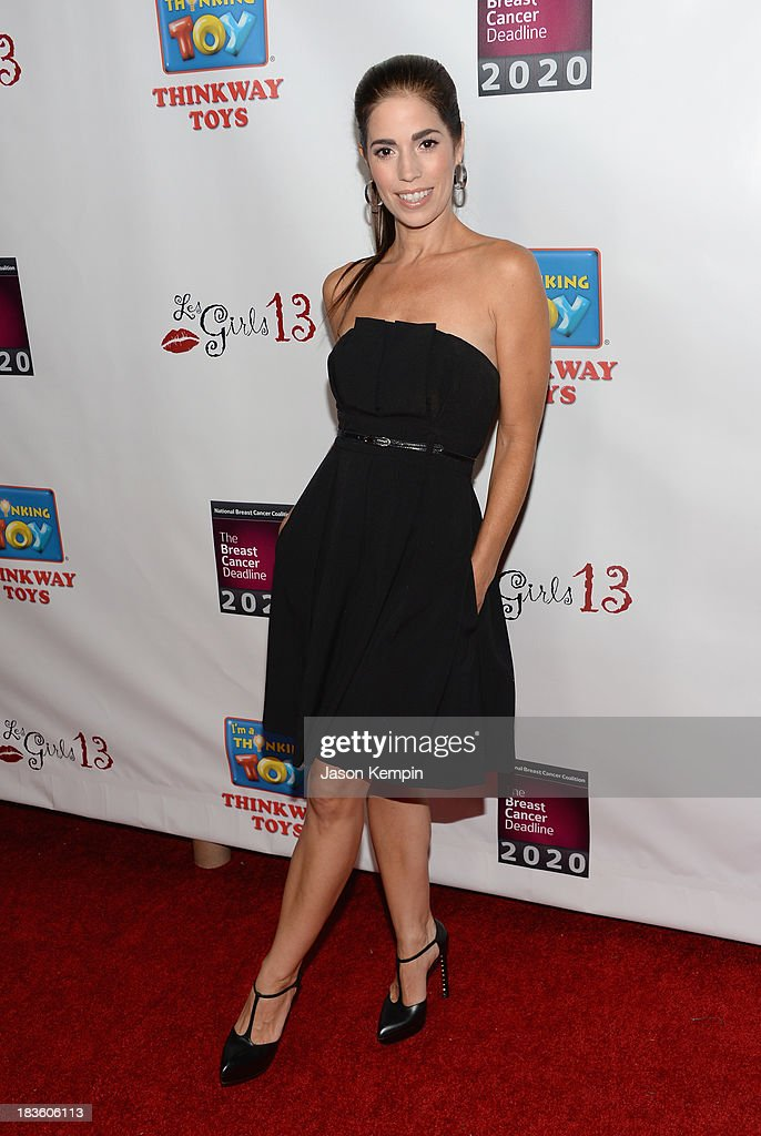 Actress <a gi-track='captionPersonalityLinkClicked' href=/galleries/search?phrase=Ana+Ortiz+-+Actress&family=editorial&specificpeople=12934861 ng-click='$event.stopPropagation()'>Ana Ortiz</a> attends the 13th Annual Les Girls benefit at Avalon on October 7, 2013 in Hollywood, California.
