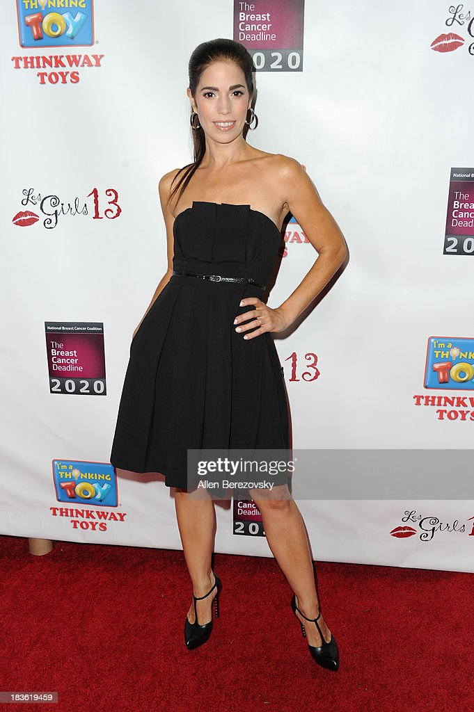 Actress <a gi-track='captionPersonalityLinkClicked' href=/galleries/search?phrase=Ana+Ortiz+-+Actress&family=editorial&specificpeople=12934861 ng-click='$event.stopPropagation()'>Ana Ortiz</a> attends the 13th annual Les Girls benefiting the National Breast Cancer Coalition Fund at Avalon on October 7, 2013 in Hollywood, California.