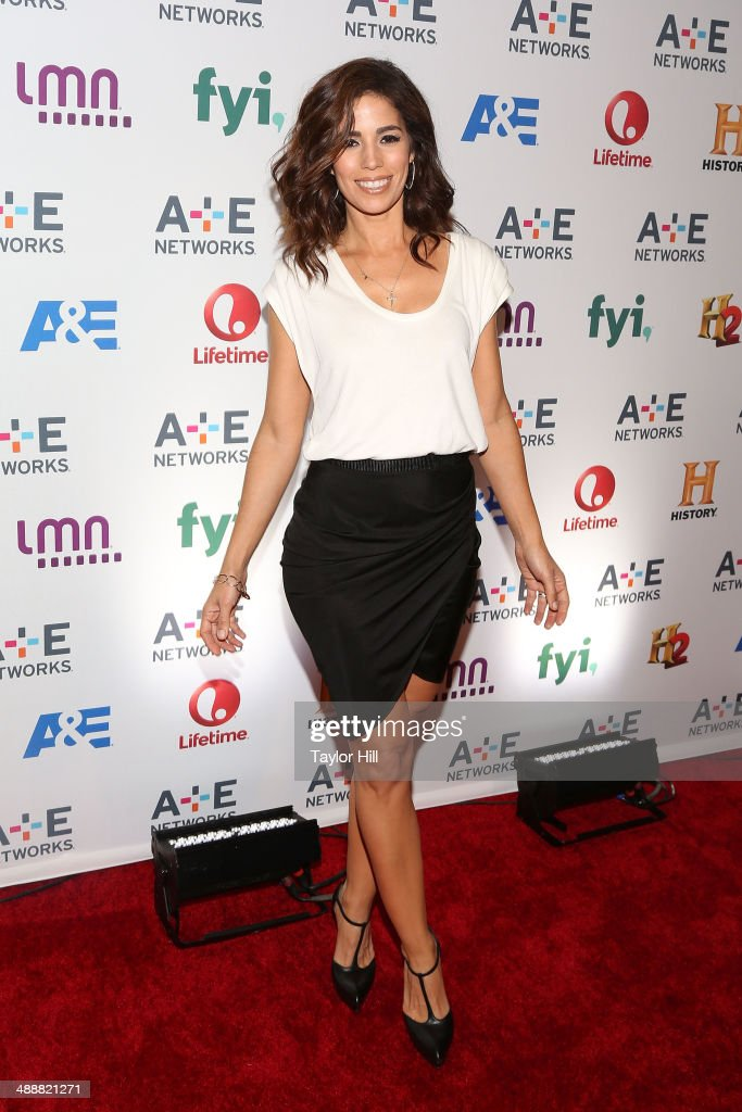 Actress <a gi-track='captionPersonalityLinkClicked' href=/galleries/search?phrase=Ana+Ortiz+-+Actress&family=editorial&specificpeople=12934861 ng-click='$event.stopPropagation()'>Ana Ortiz</a> attends the 2014 A+E Network Upfronts at Park Avenue Armory on May 8, 2014 in New York City.