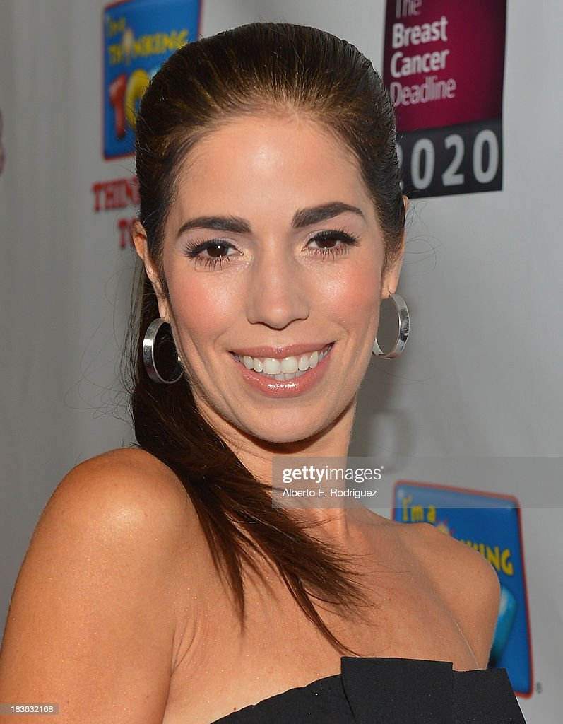 Actress <a gi-track='captionPersonalityLinkClicked' href=/galleries/search?phrase=Ana+Ortiz+-+Actress&family=editorial&specificpeople=12934861 ng-click='$event.stopPropagation()'>Ana Ortiz</a> attends The National Breast Cancer Coalition Fund presents The 13th Annual Les Girls at the Avalon on October 7, 2013 in Hollywood, California.