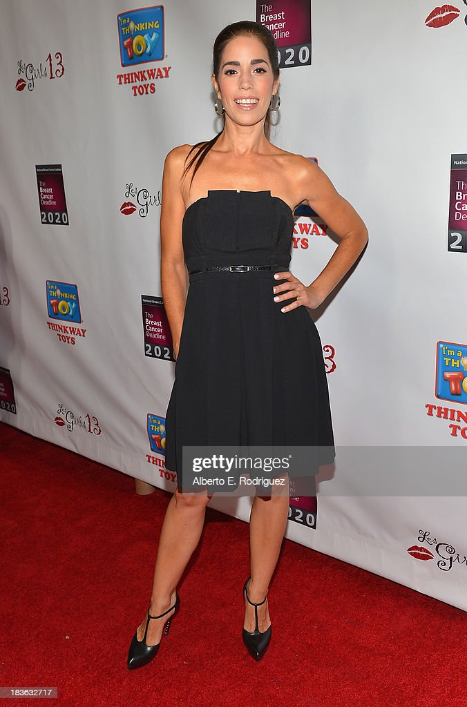 Actress Ana Ortiz attends The National Breast Cancer Coalition Fund presents The 13th Annual Les Girls at the Avalon on October 7, 2013 in Hollywood, California.