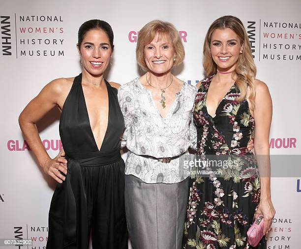 Actress Ana Ortiz President CEO National Women's History Museum Joan Wages and actress Brianna Brown attend the National Women's History Museum 5th...