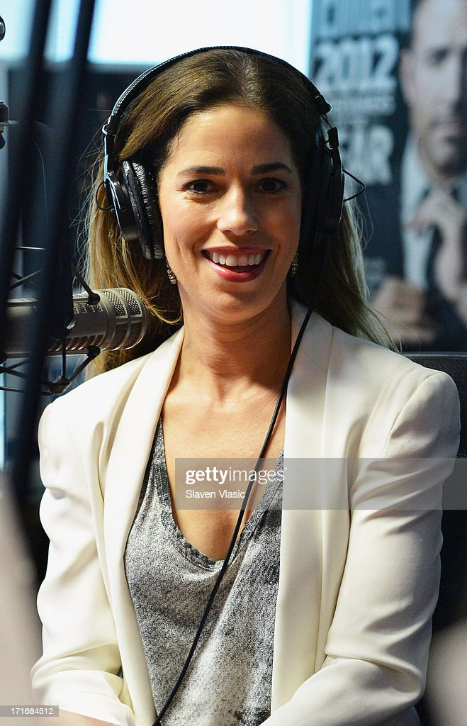 Actress <a gi-track='captionPersonalityLinkClicked' href=/galleries/search?phrase=Ana+Ortiz+-+Actress&family=editorial&specificpeople=12934861 ng-click='$event.stopPropagation()'>Ana Ortiz</a> visits EW at SiriusXM Studios on June 27, 2013 in New York City.