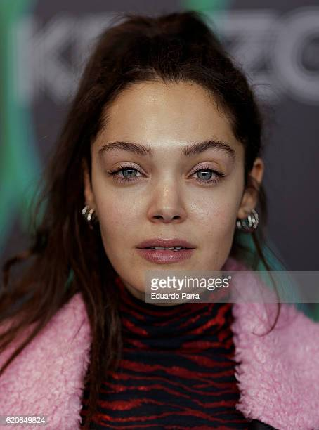 Actress Ana Rujas attends the Kenzo X HM photocall at HM store on November 2 2016 in Madrid Spain