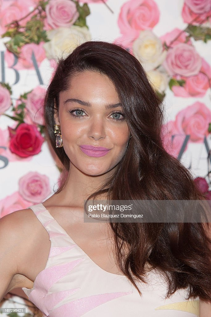 Actress Ana Rujas attends the presentation of the new fragrance 'Rosa' at Ritz Hotel on April 23, 2013 in Madrid, Spain.