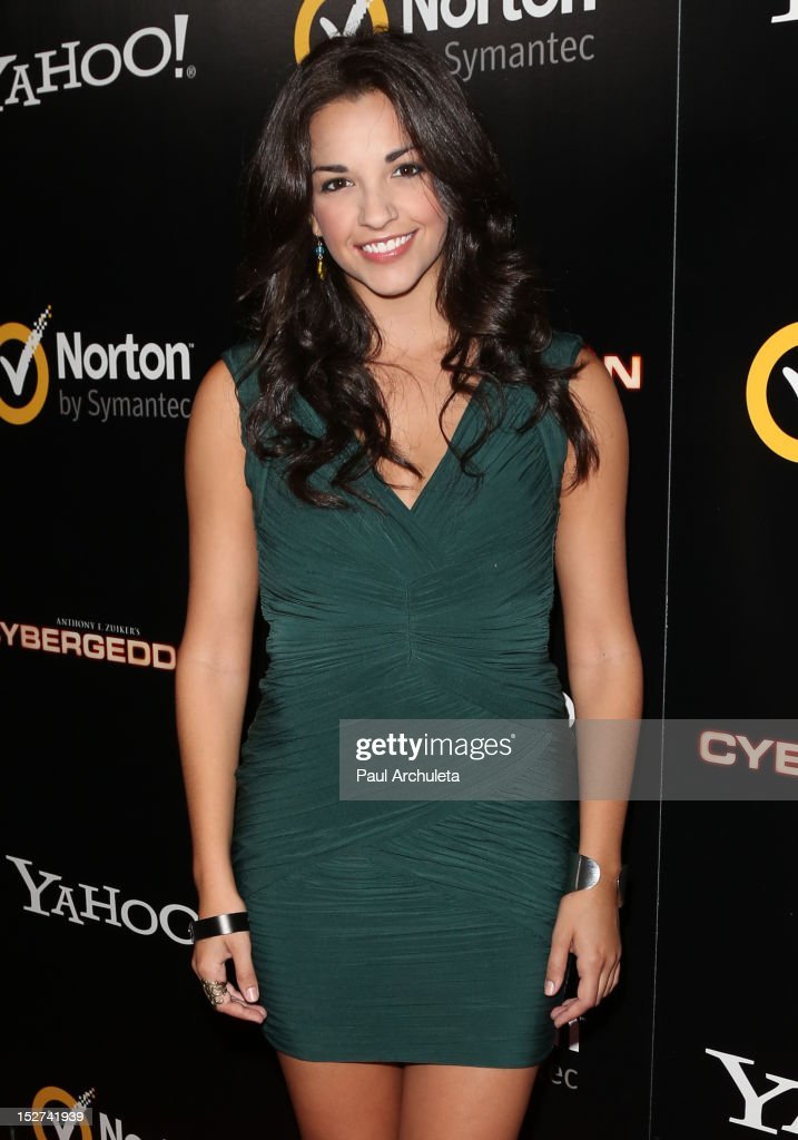 Actress Ana Villafane attends the 'Cybergeddon' premiere at the Pacific Design Center on September 24, 2012 in West Hollywood, California.