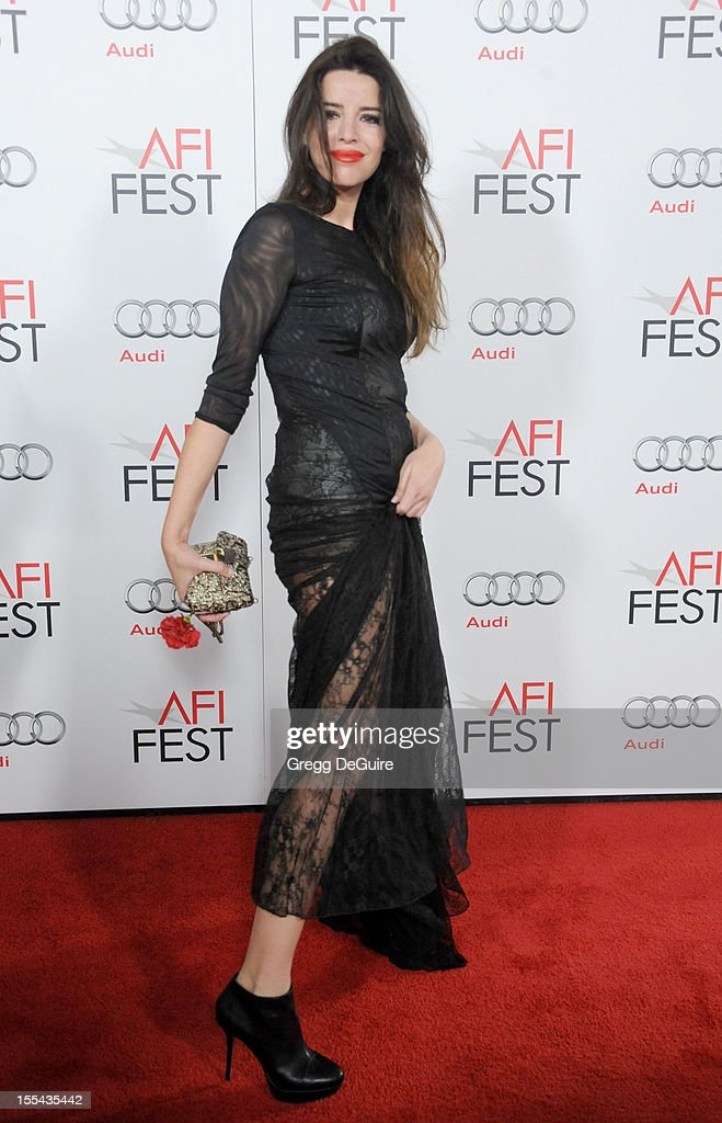 Actress Anabela Moreira arrives at the special screening of 'Holy Motors' during the 2012 AFI FEST at Grauman's Chinese Theatre on November 3, 2012 in Hollywood, California.
