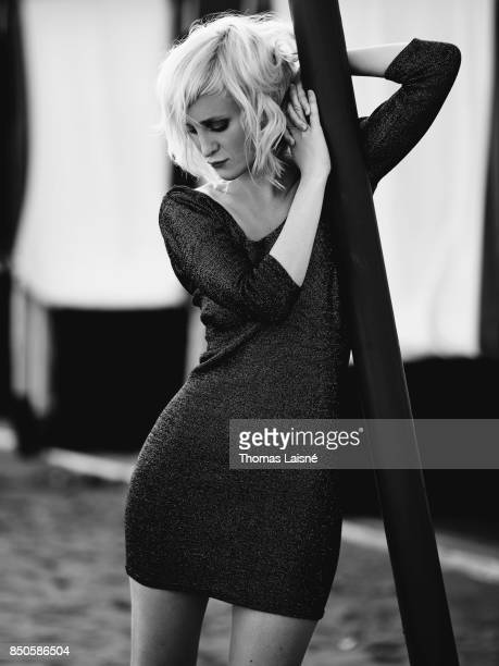 Actress Anael Snoek is photographed for Self Assignment on September 5 2017 in Venice Italy