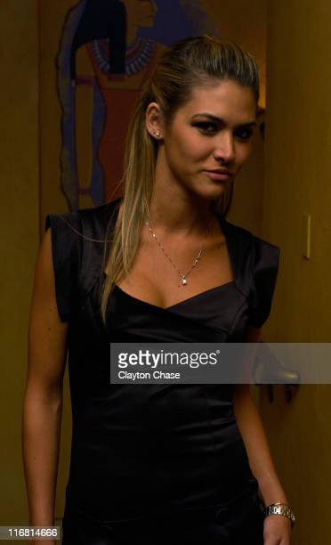Actress Anahi DeCardenas attends a screening of 'Mancora' at the Egyptian Theatre during the 2008 Sundance Film Festival on January 20 2008 in Park...