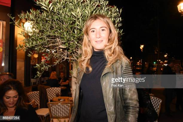 Actress Anais Aidoud attends the 'Apero Gouter' Cocktail Hosted by Le Grand Seigneur Magazine at Bistrot Marguerite on September 28 2017 in Paris...