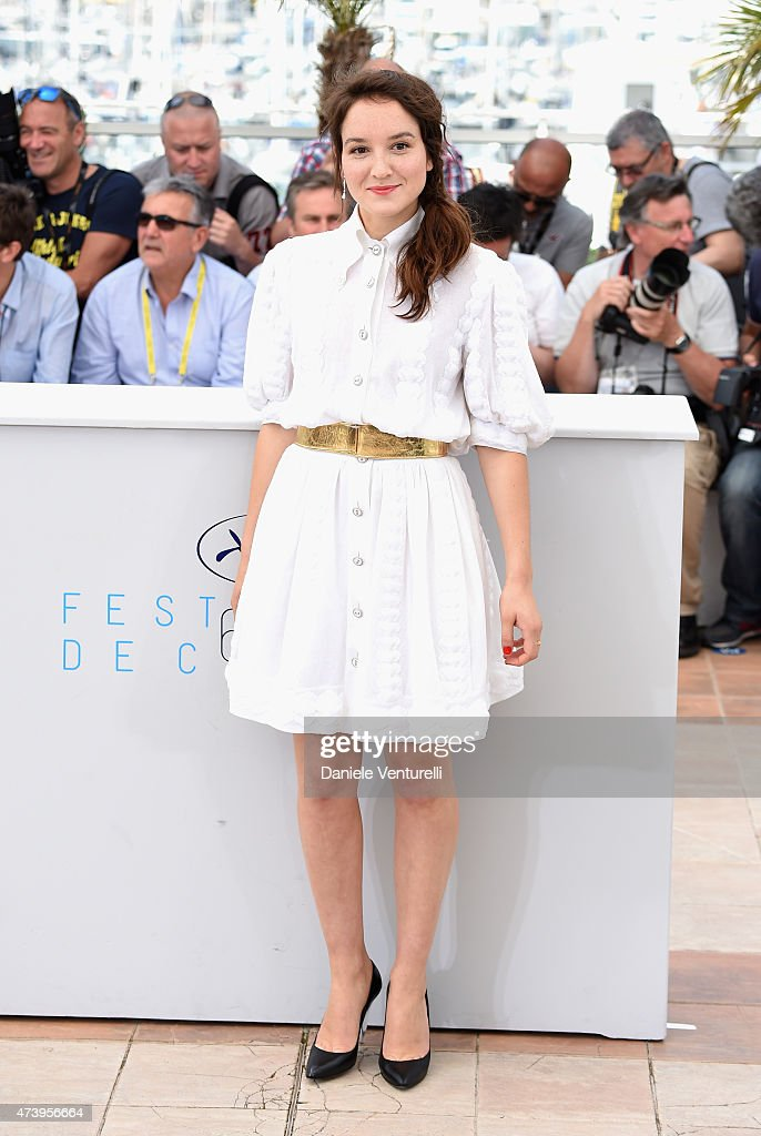 Actress <a gi-track='captionPersonalityLinkClicked' href=/galleries/search?phrase=Anais+Demoustier&family=editorial&specificpeople=5361012 ng-click='$event.stopPropagation()'>Anais Demoustier</a> attends a photocall for 'Marguerite And Julien' during the 68th annual Cannes Film Festival on May 19, 2015 in Cannes, France.