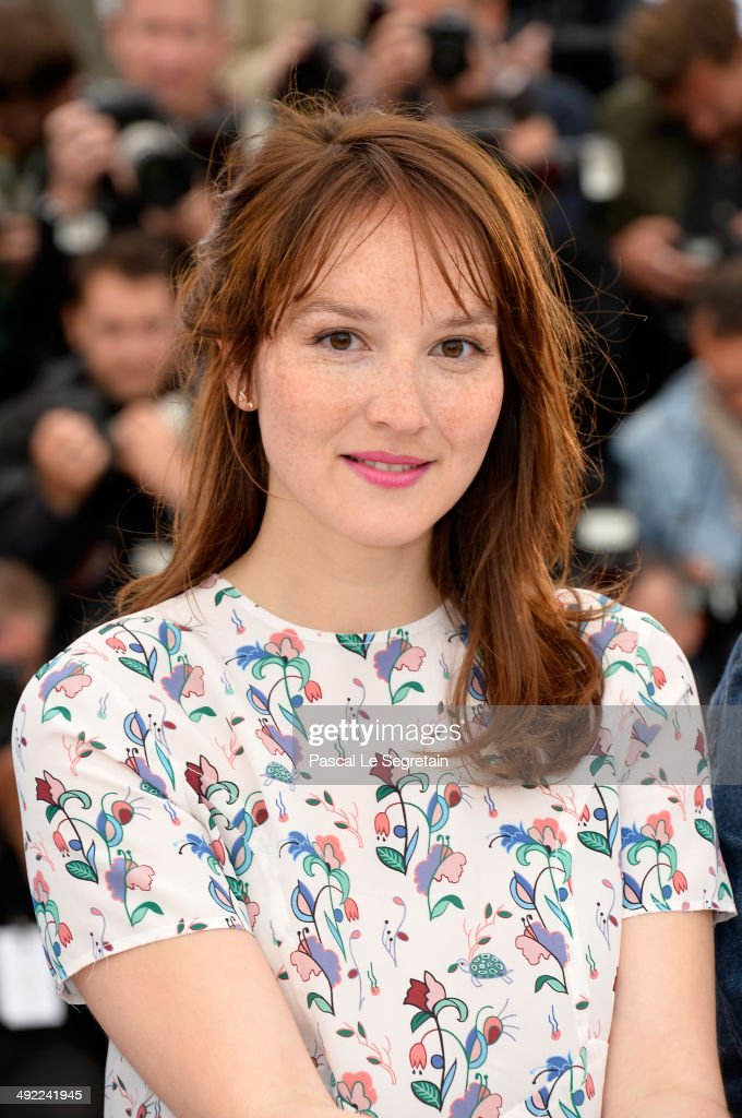 Actress Anais Demoustier attends the 'Bird People' photocall at the 67th Annual Cannes Film Festival on May 19, 2014 in Cannes, France.