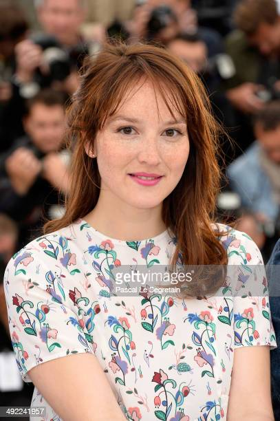 Actress Anais Demoustier attends the 'Bird People' photocall at the 67th Annual Cannes Film Festival on May 19 2014 in Cannes France