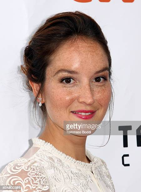 Actress Anais Demoustier attends 'The New Girlfriend' premiere during the 2014 Toronto International Film Festival at Roy Thomson Hall on September 6...