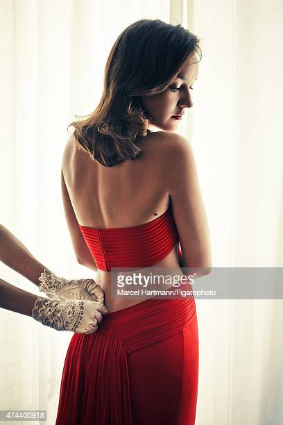 Actress Anais Demoustier is photographed for Madame Figaro on April 7 2015 in Paris France Dress gloves PUBLISHED IMAGE CREDIT MUST READ Marcel...