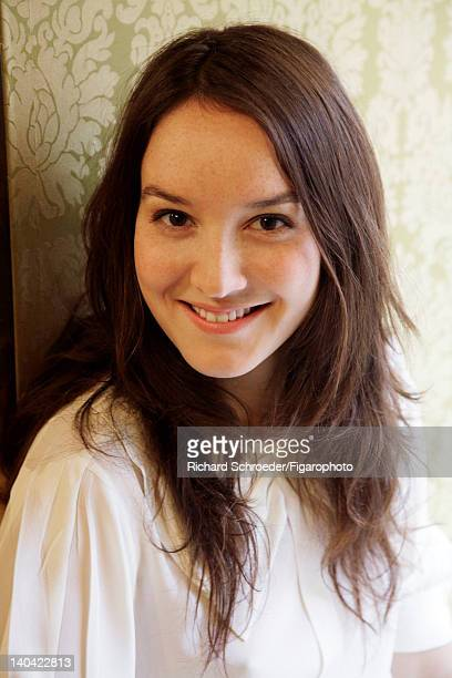 Actress Anais Demoustier is photographed for Madame Figaro on January 10 2012 in Paris France Figaro ID 103011010 CREDIT MUST READ Richard...