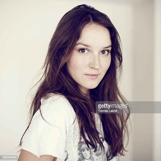 Actress Anais Demoustier is photographed for Self Assignment on July 8 2010 in Paris France