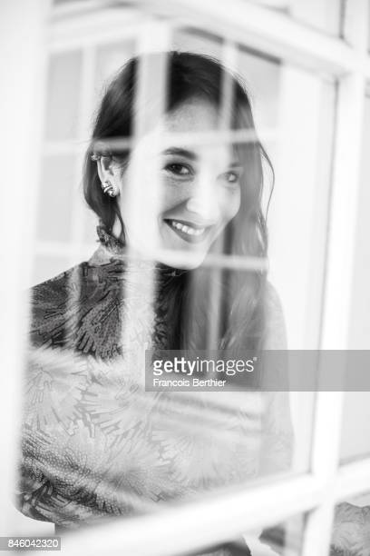 Actress Anais Demoustier is photographed on September 9 2017 in Deauville France