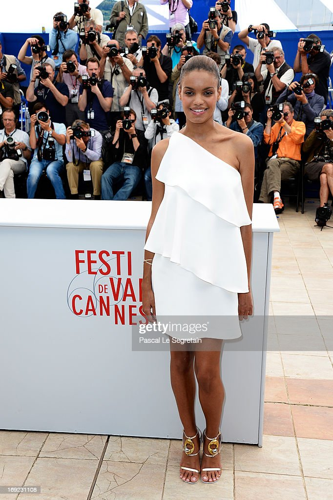 Actress Anais Monory attends the 'Grigris' Photocall during the 66th Annual Cannes Film Festival on May 22, 2013 in Cannes, France.