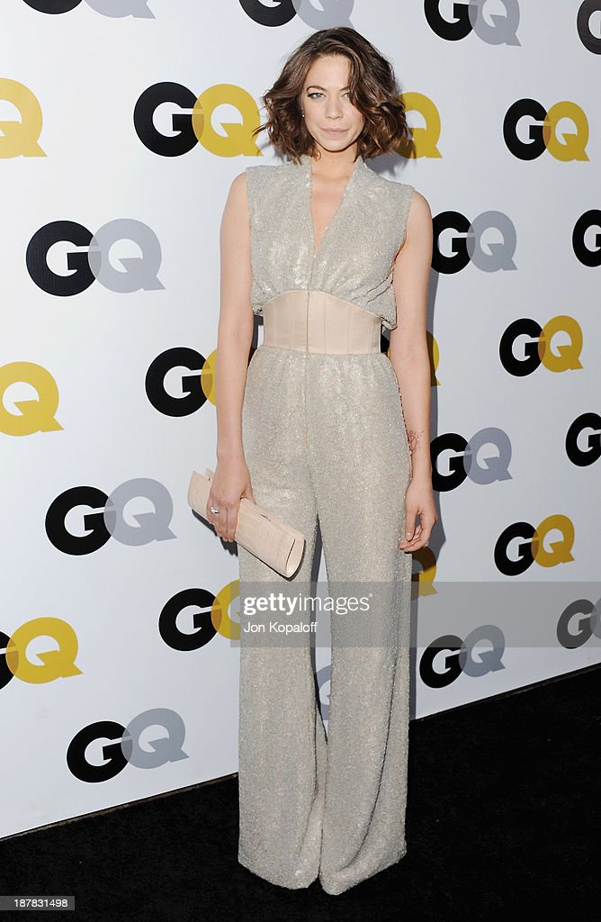 Actress Analeigh Tipton arrives at GQ Celebrates The 2013 'Men Of The Year' at The Wilshire Ebell Theatre on November 12, 2013 in Los Angeles, California.