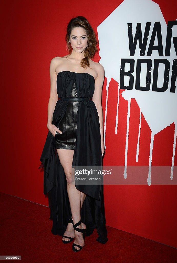 Actress Analeigh Tipton arrives at the premiere of Summit Entertainment's 'Warm Bodies' at ArcLight Cinemas Cinerama Dome on January 29, 2013 in Hollywood, California.