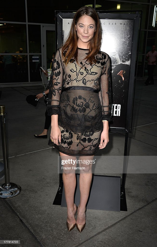 Actress <a gi-track='captionPersonalityLinkClicked' href=/galleries/search?phrase=Analeigh+Tipton&family=editorial&specificpeople=7357605 ng-click='$event.stopPropagation()'>Analeigh Tipton</a> arrives at the Screening Of The Weinstein Company And Annapurna Pictures' 'The Grandmaster' - at ArcLight Cinemas on August 22, 2013 in Hollywood, California.