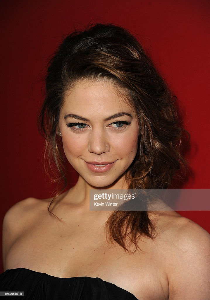 Actress Analeigh Tipton arrives for the Los Angeles premiere of Summit Entertainment's 'Warm Bodies' at ArcLight Cinemas Cinerama Dome on January 29, 2013 in Hollywood, California.