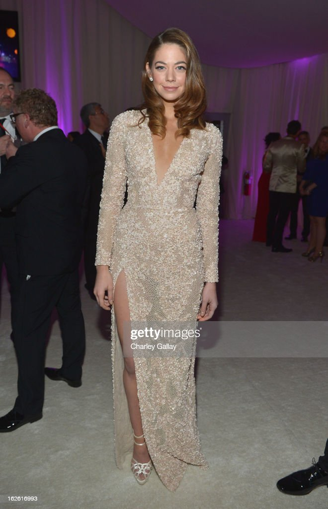 Actress Analeigh Tipton attends Neuro at 21st Annual Elton John AIDS Foundation Academy Awards Viewing Party at West Hollywood Park on February 24, 2013 in West Hollywood, California.