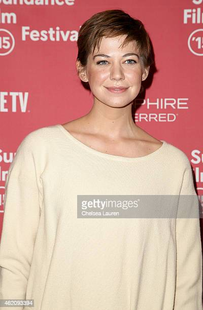 Actress Analeigh Tipton attends the 'Mississippi Grind' premiere during the 2015 Sundance Film Festival on January 24 2015 in Park City Utah