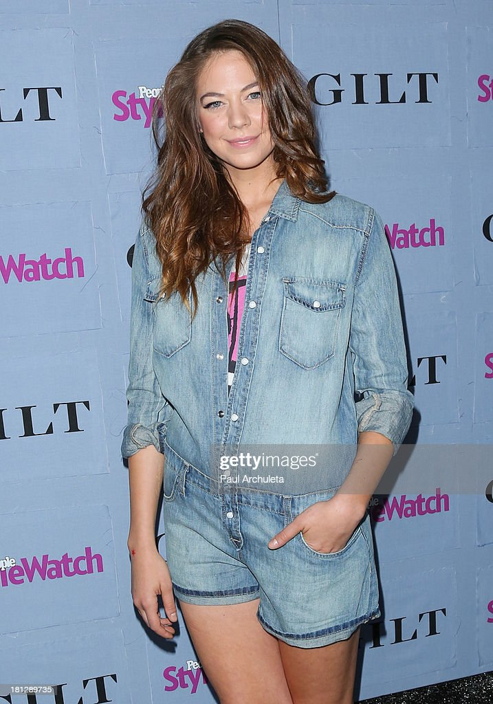 Actress Analeigh Tipton attends the People StyleWatch 3rd annual Denim Issue party at Palihouse on September 19, 2013 in West Hollywood, California.