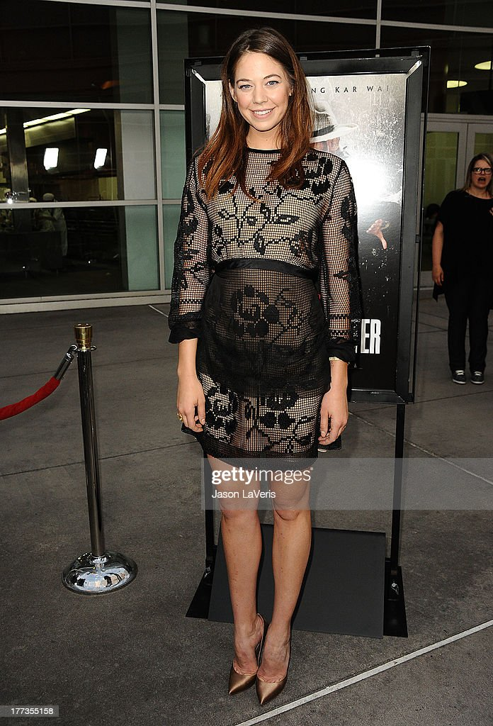 Actress Analeigh Tipton attends the premiere of 'The Grandmaster' at ArcLight Cinemas on August 22, 2013 in Hollywood, California.