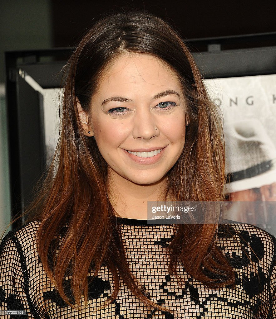 Actress <a gi-track='captionPersonalityLinkClicked' href=/galleries/search?phrase=Analeigh+Tipton&family=editorial&specificpeople=7357605 ng-click='$event.stopPropagation()'>Analeigh Tipton</a> attends the premiere of 'The Grandmaster' at ArcLight Cinemas on August 22, 2013 in Hollywood, California.