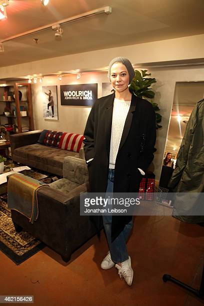 Actress Analeigh Tipton attends the The Variety Studio At Sundance Presented By Dockers on January 25 2015 in Park City Utah