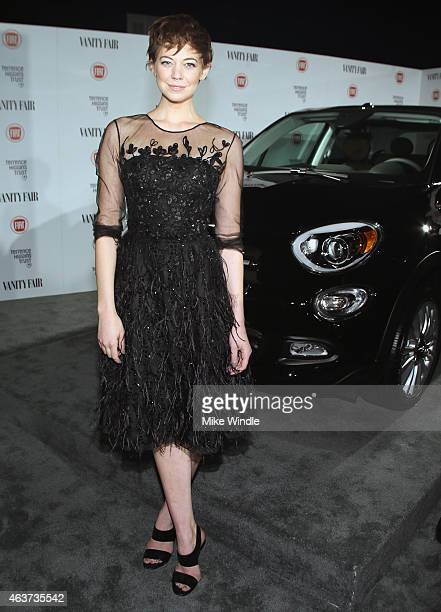 Actress Analeigh Tipton attends Vanity Fair and FIAT celebration of Young Hollywood hosted by Krista Smith and James Corden to benefit the Terrence...