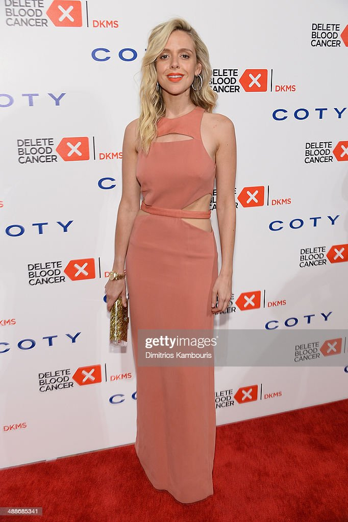 Actress Anastasia Ganias attends the 2014 Delete Blood Cancer Gala Honoring Evan Sohn and the Sohn Conference Foundation at Cipriani Wall Street on May 7, 2014 in New York City.