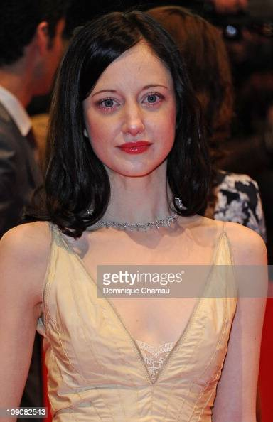 Actress and 2011 Shooting Star Andrea Riseborough attends the 'Coriolanus' Premiere during day five of the 61st Berlin International Film Festival at...