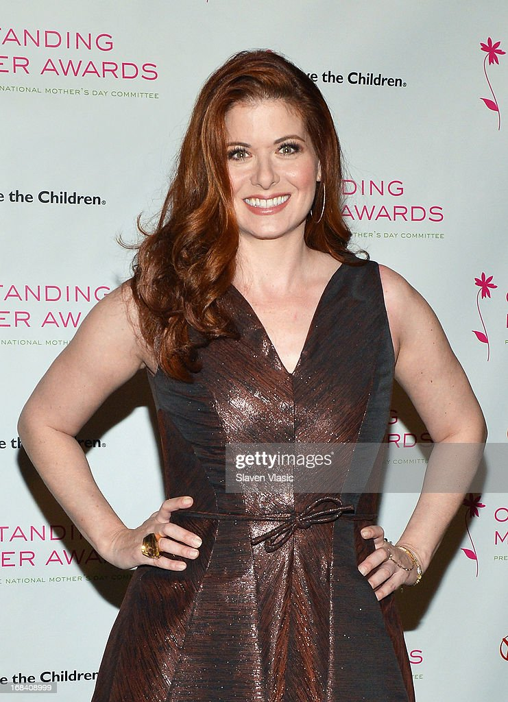 Actress and 2013 Outstanding Mother Honoree Debra Messing attends the 2013 Outstanding Mother Awards at The Pierre Hotel on May 9, 2013 in New York City.