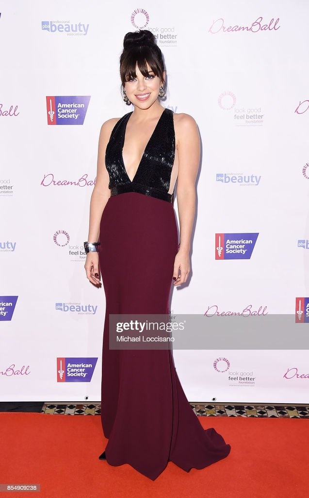 Actress and 2017 DreamGirl honoree Krysta Rodriguez attends the 2017 DreamBall To Benefit Look Good Feel Better at Cipriani 42nd Street on September 27, 2017 in New York City.