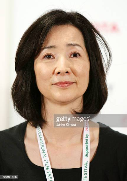 Actress and a member of Jury at Tokyo International Film Festival Fumi Dan attends the International Competition Juries' press conference at Roppongi...